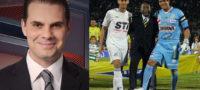 El comentarista acusó a André Marín de boicot.