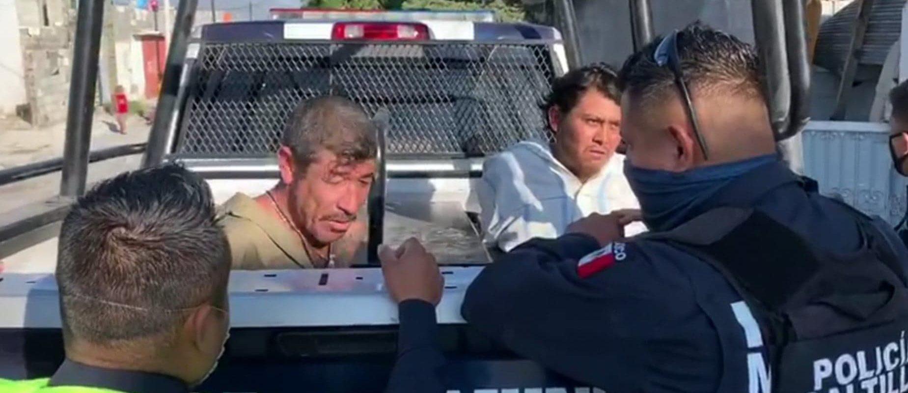Roban camioneta y desmantelan