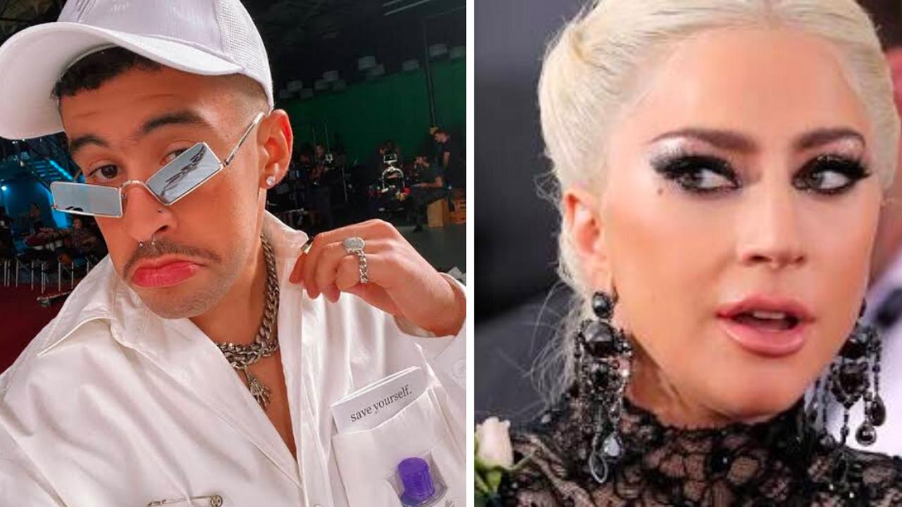 Cancelan a Bad Bunny tras comentarios contra Lady Gaga.