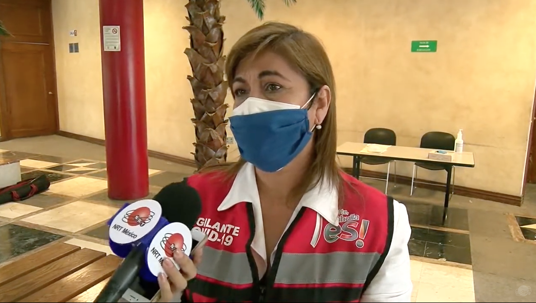 Laura Malva Silva, alcaldesa de Ocampo