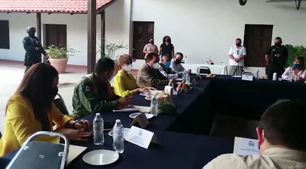Establecen labores de coordinación autoridades de seguridad y alcaldes de la Región Centro.