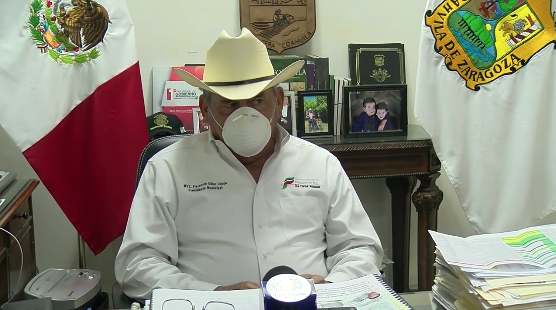 Florencio Siller Linaje, alcalde de Frontera