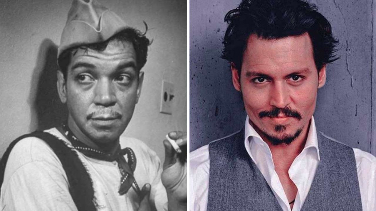 Johnny Depp desea darle vida a Cantinflas