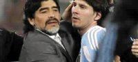 Maradona y Messi jugarán juntos