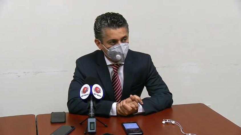 Miguel Felipe Mery Ayup, presidente del Poder Judicial del Estado