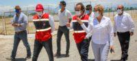 Recorren espacios para instalación de la Cruz Roja en Cuatro Ciénegas