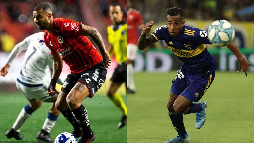 Edwin Cardona aclaró intercambio Boca-Xolos con Sebastián Villa.