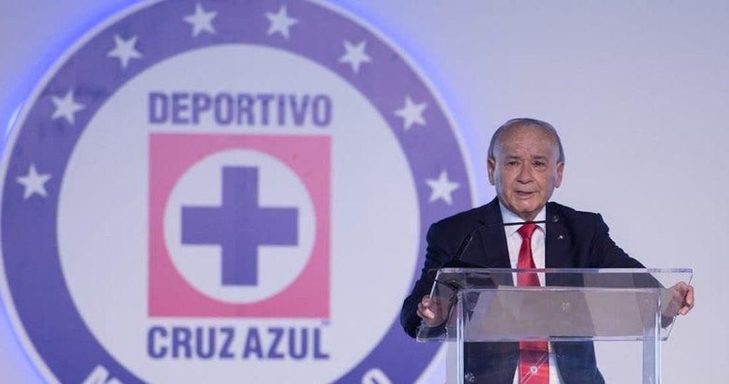 Guillermo Álvarez Cuevas, miembro directivo de la Cooperativa Cruz Azul.