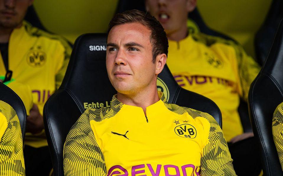 Mario Götze se va del Borussia