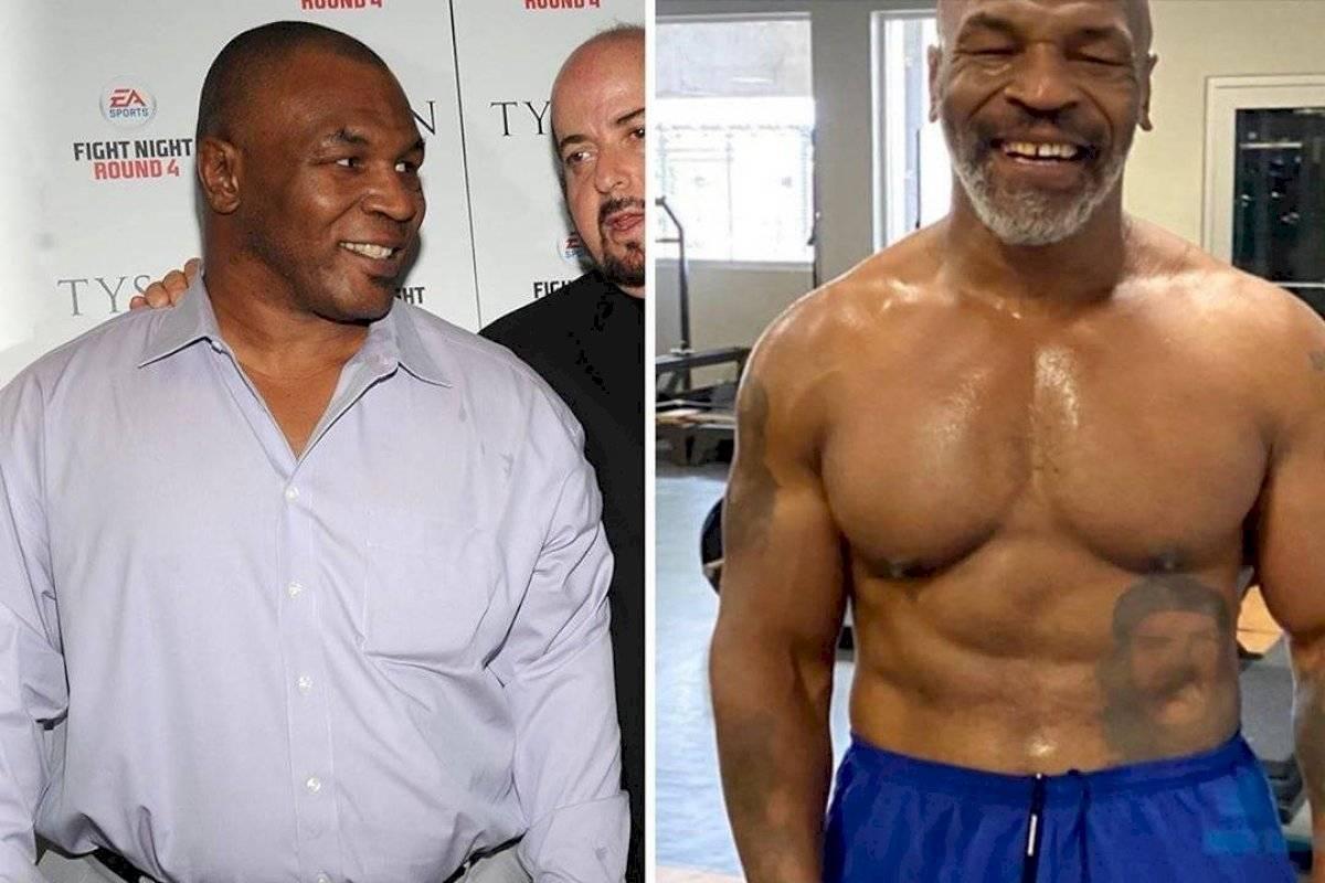 Tyson perdió 45 kilos gracias a una dieta vegana y tratamiento de deportistas