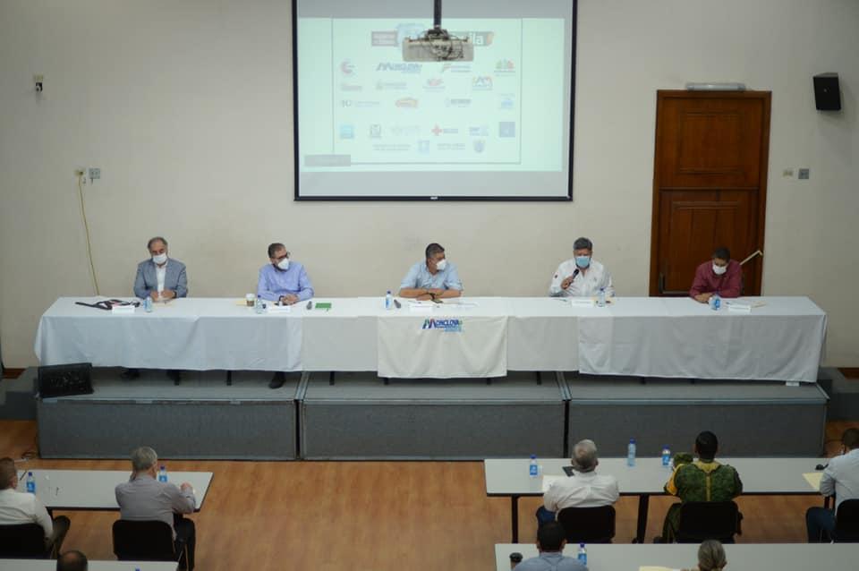 Sesiona Subcomité de Salud en la Región Centro