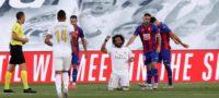 Marcelo Vieira celebra el tercer gol de su equipo