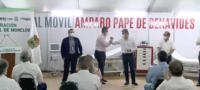 El hospital móvil Amparo Pape de Benavides en Monclova atenderá a pacientes no COVID.