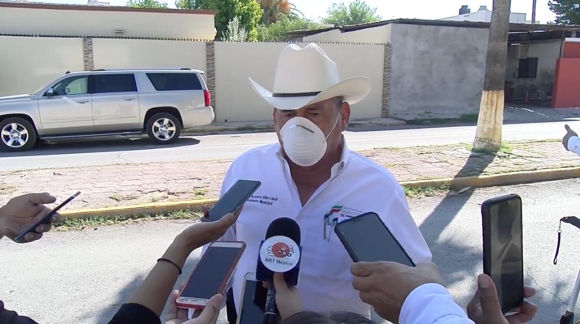 Florencio Siller Linaje , alcalde de Frontera