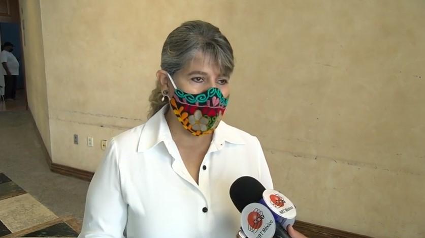 Gladys Ayala Flores, alcaldesa de San Buenaventura.