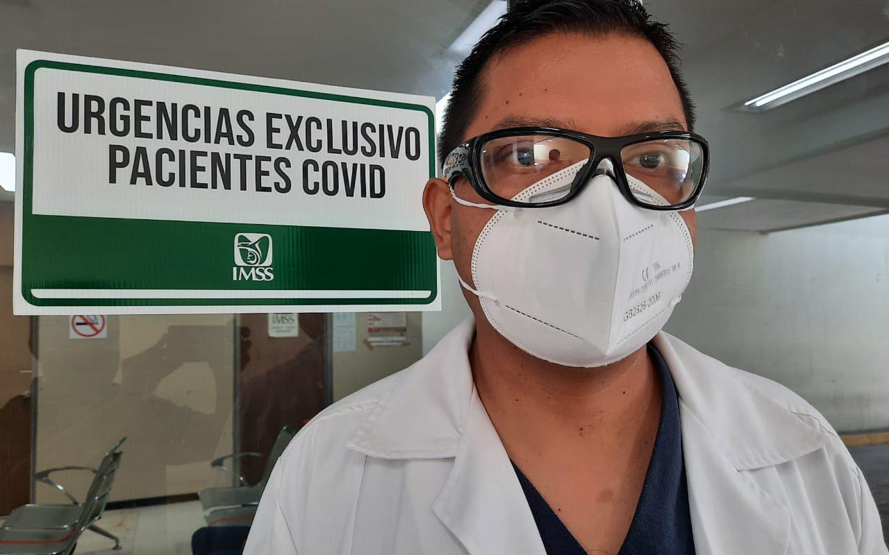 Vence médico del IMSS al Covid.