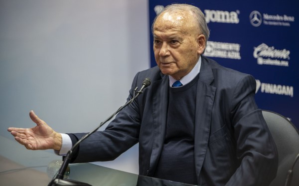 Billy Álvarez, presidente de la Cooperativa La Cruz Azul.