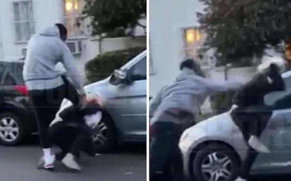 J.R. Smith mostró su lado violento ante el manifestante.