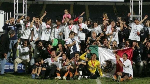La Copa Sudamericana 2006 será inolvidable para todos los aficionados de Pachuca.