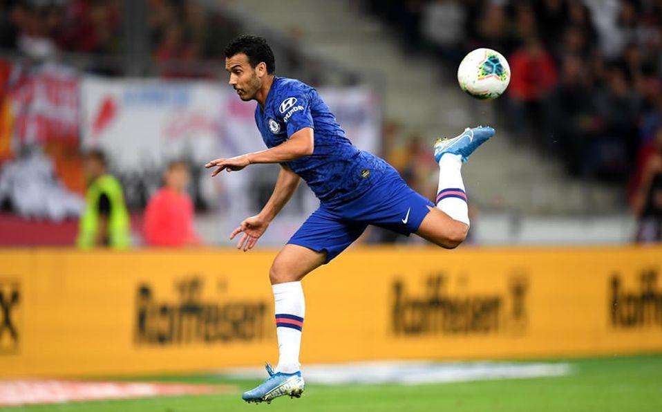 Pedro y su iconico gol de Taco con el Chelsea.