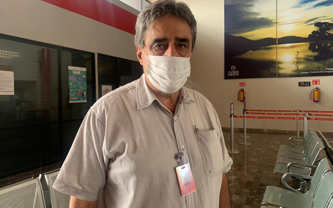 Bajan vuelos internacionales en Frontera ante contingencia sanitaria