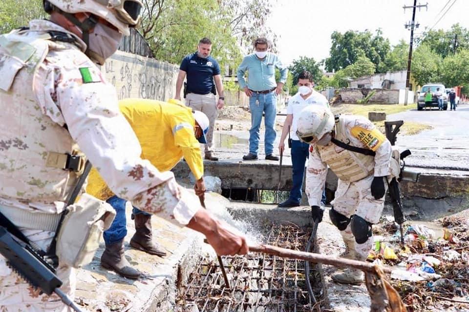 Deja tormenta tropical 'Hanna' destrozos en San Juan de Sabinas; supervisan arroyos y ríos