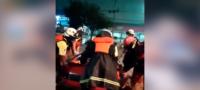 Mujer de Nuevo León da a luz en plena tormenta Hanna; la trasladaron en lancha al hospital