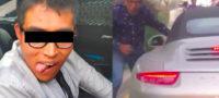 Captan asalto a automovilista en la CDMX