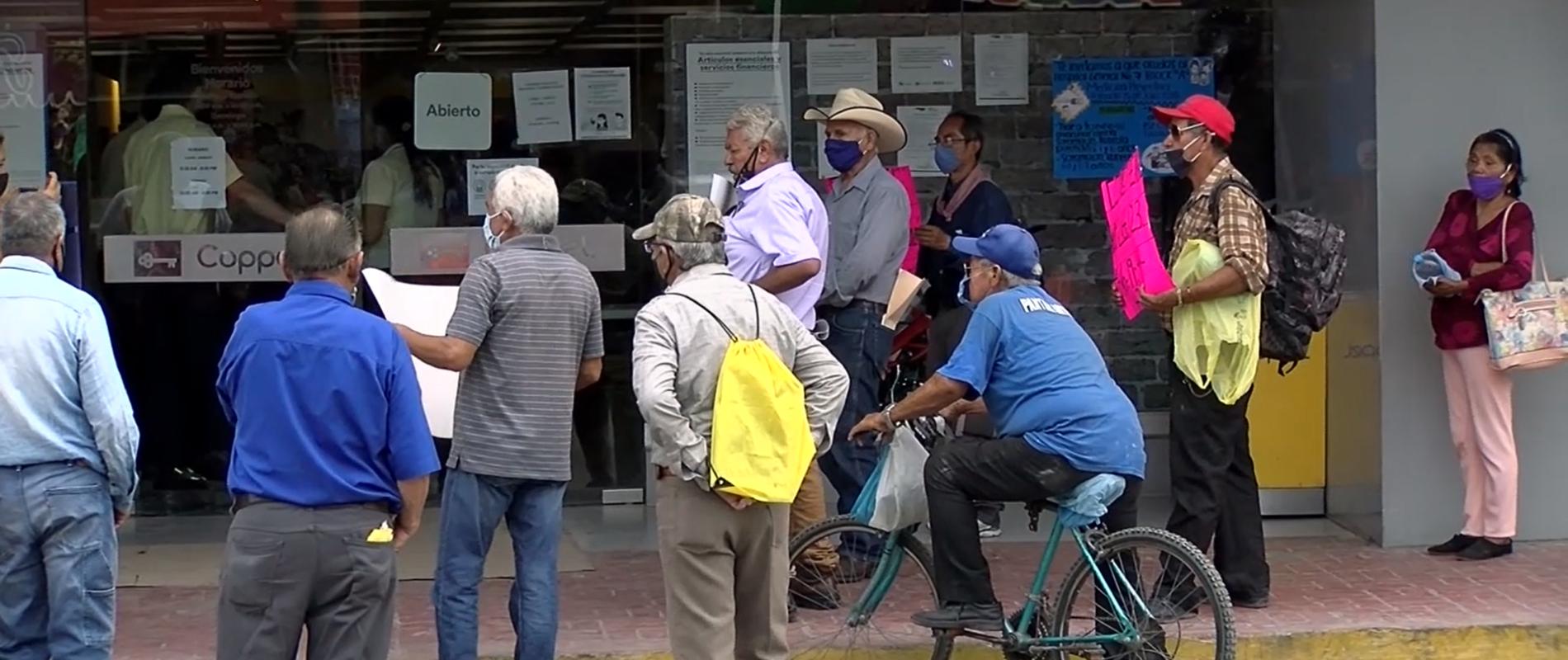 Denuncian desfalco de cuanta de afore a ex trabajador de AHMSA en Bancoppel