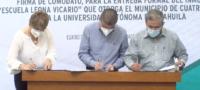 Firman comodato para Centro de Investigación en Cuatro Ciénegas.