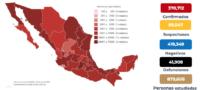 Nuevo récord en México: registran 8 mil casos de COVID-19 en 24 horas.