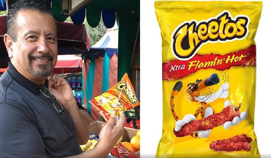De conserje a millonario: Richard Montañez, el mexicano que inventó de los Cheetos Flamin' Hot.