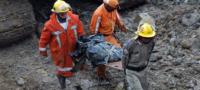 Mueren seis en derrumbe de mina en Colombia; tres continúan desaparecidos