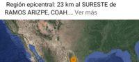 sismo ramos arizpe