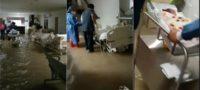 Reynosa bajo el agua tras paso de 'Hanna', ¡se inunda Hospital Materno Infantil!