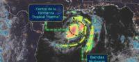 La Tormenta tropical 'Hanna' ya llegó al Golfo de México