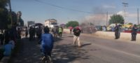 Conflicto familiar causó bloqueo de carretera Torreón-San Pedro