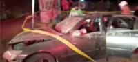 Aparatoso accidente vial en Libramiento Sur-Poniente de Acuña