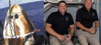 Aterriza con éxito Crew Dragon; la Cápsula enviada a bordo del cohete SpaceX