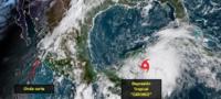 Amenaza depresión tropical 14 con avanzar a península de Yucatán y convertirse en huracán