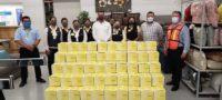 Por pandemia, recibe Ayuntamiento de Acuña 200 despensas de parte de Coppel