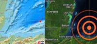 Se registra sismo de 5.7 en Quintana Roo con epicentro en Honduras