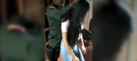 POLICIAS PERREANDO