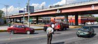 Choque frente al Ave Fenix en bulevar Pape de Monclova