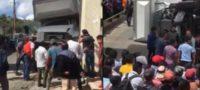 Camión del IMSS ocasiona fatal accidente en Chiapas; tres muertos y ocho lesionados