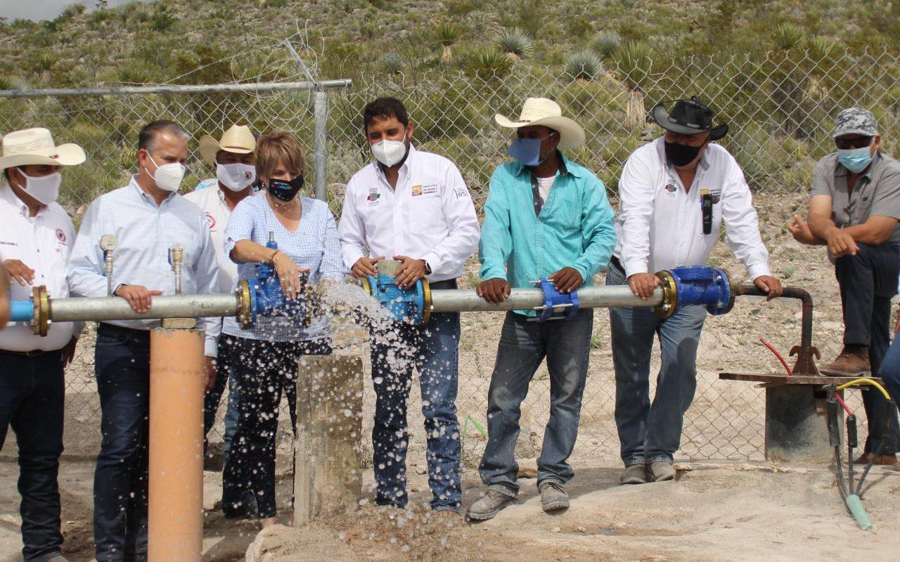 Perforan pozo de agua en el ejido Lucio Blanco en Cuatro Ciénegas, Coahuila; es el pozo más profundo en todo el estado
