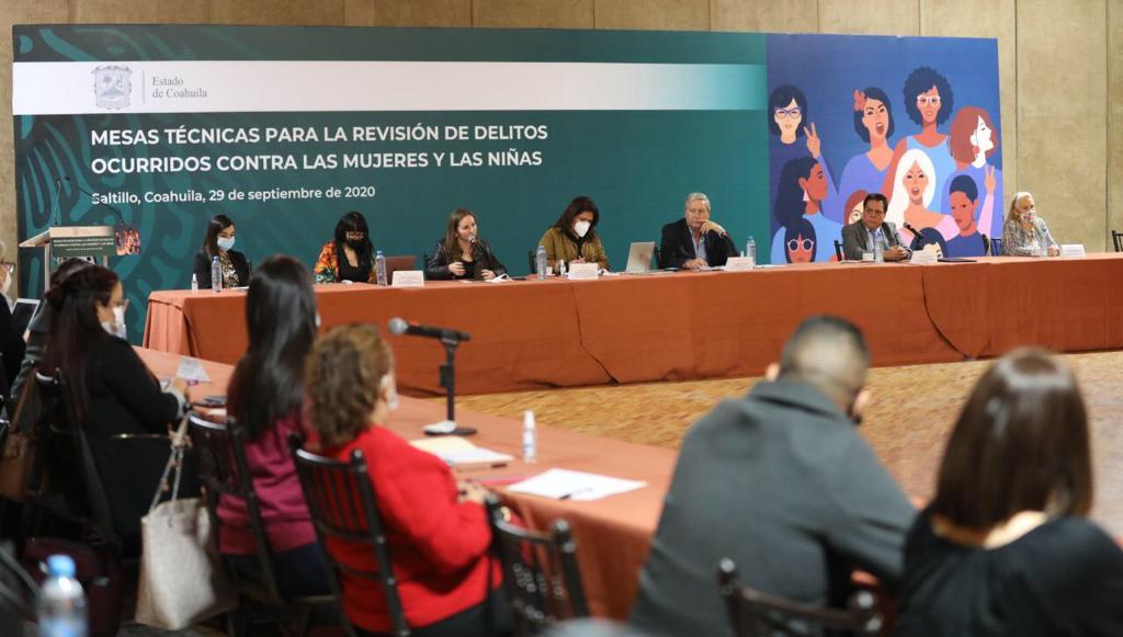 mesa técnica para revisión de delitos contra mujeres y niñas
