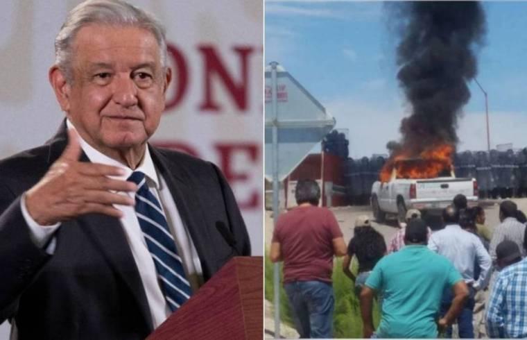 Exhibe AMLO participación del PRI y PAN en manifestaciones violentas de Chihuahua