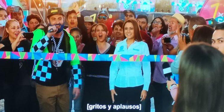 #LadyNetflix: Alcaldesa de Aguascalientes debuta en película con cargo al presupuesto