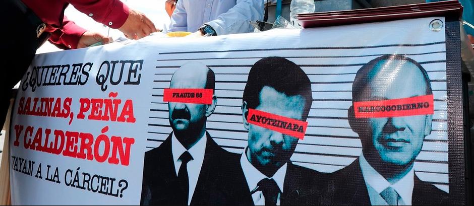 Coahuilenses a favor de que ex presidentes vayan a juicio: 5 mil firmas se recabaron en Piedras Negras
